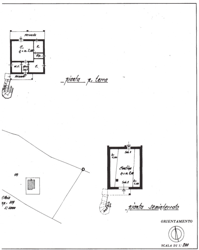 Floor plans of the house