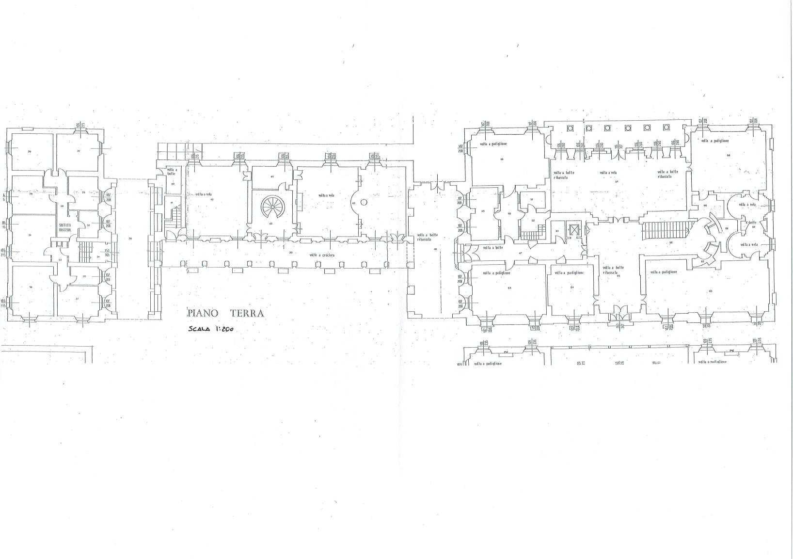 Ground floor plan - Villa of Ferlaro