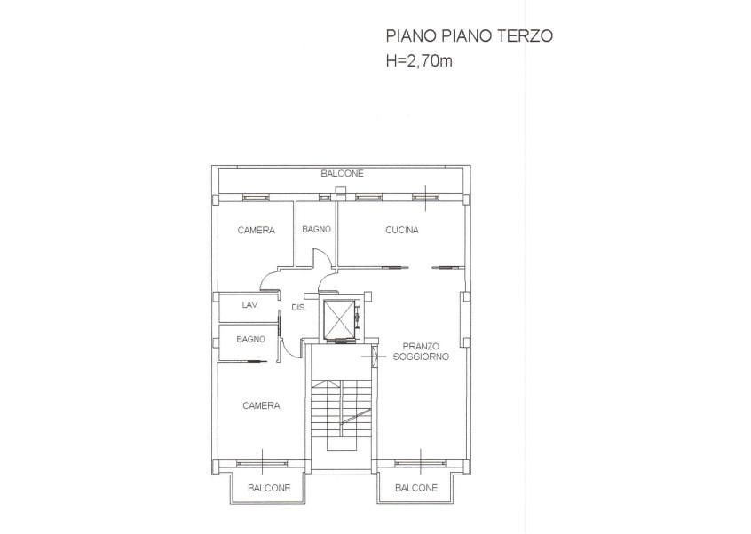 Planimetria Appartamento Alghero