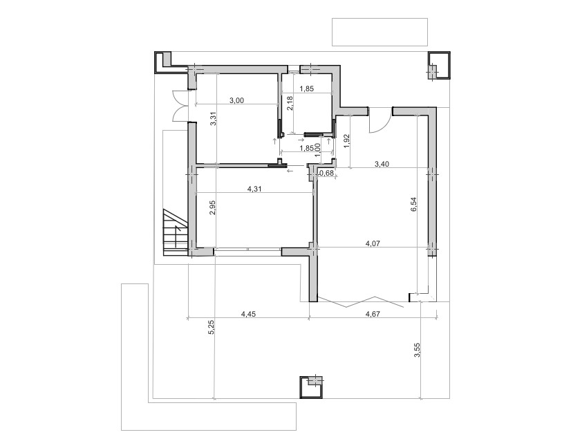 Planimetrie Villetta