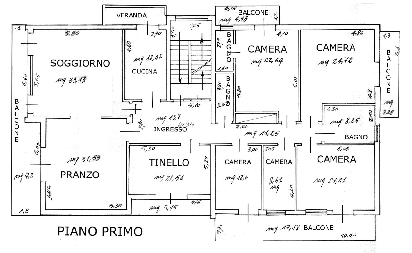 Villa Cattolica primo piano