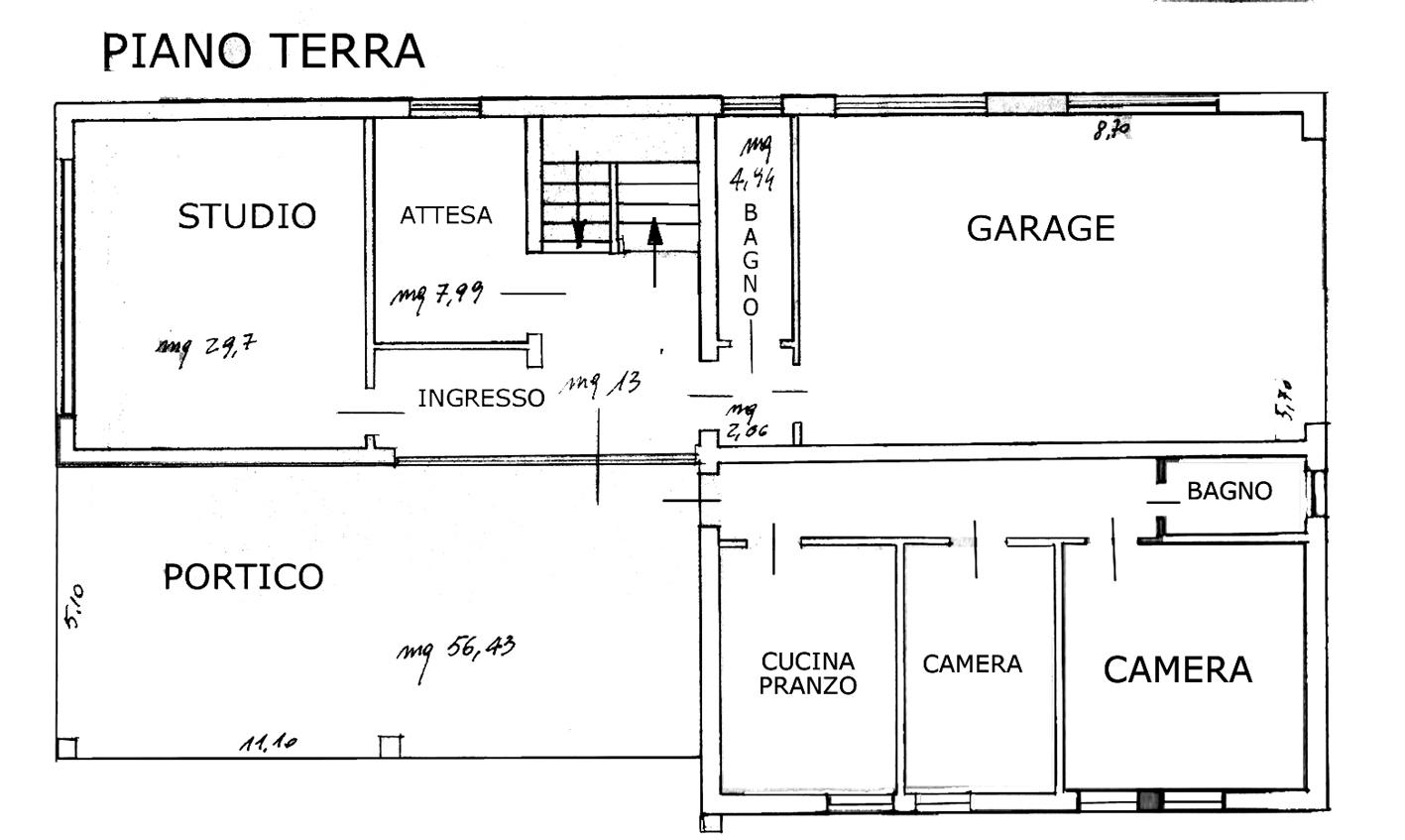 Villa Cattolica Piano Terra