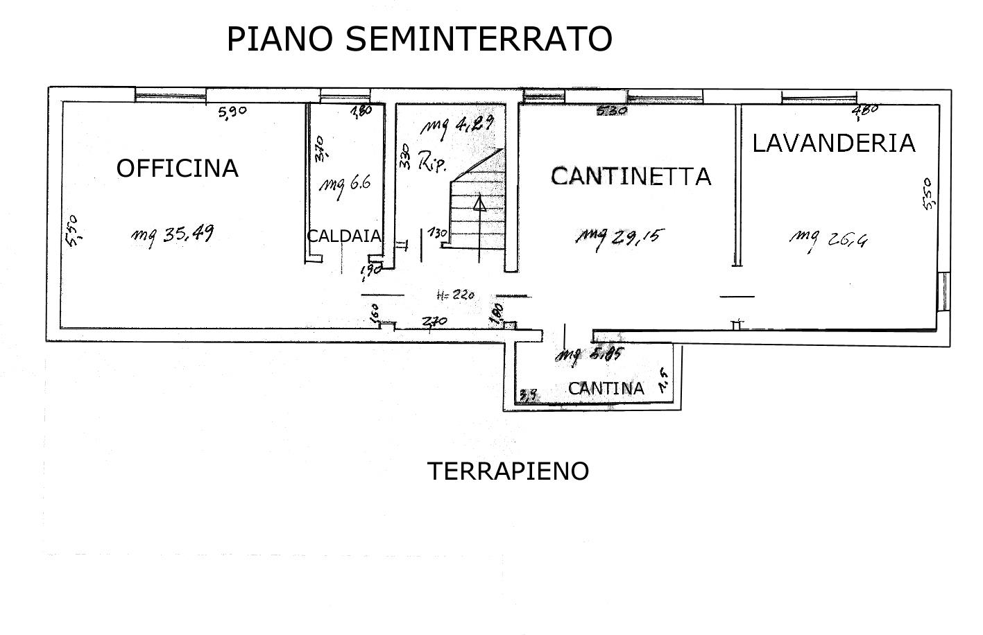 Villa Cattolica Seminterrato
